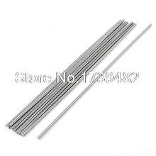 10x 2.5mm Diameter 200mm Long Boring Tool Round Turning Lathe Bars