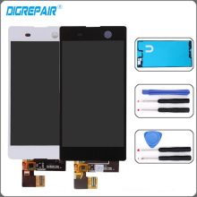"Buy 5.0"" display Sony Xperia M5 lcd Dual E5603 E5606 E5653 LCD Display Touch Screen Digitizer full Assembly Replacement Parts for $22.56 in AliExpress store"