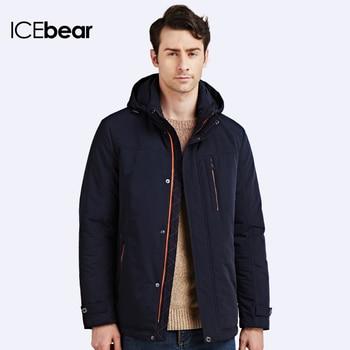 ICEbear 2017 Белая Утка Вниз Высокое Качество Утолщение Случайные Теплые Мужские Зимние Вниз Пальто Куртки Для Мужчин Куртка 17M633D
