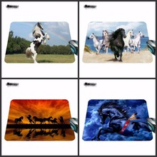 MairuigeA Series of Animals Horse Custom Made Silicon Mouse Pad Amazing Mice Mats for Computer 18*22cm And 29*25cm As Gift(China)