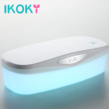 IKOKY UV Disinfection Box for Sex Toys Adult Appliance Sterilization and Disinfection for Vibrator Egg Dildo Masturbation Device(China)