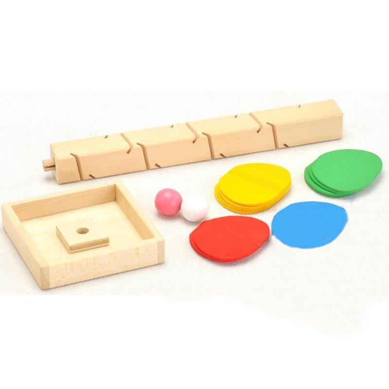 Wooden Montessori Educational Blocks Tree Game 1
