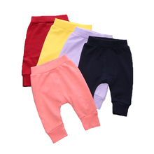 Retail 2017 Fall Winter Newborn Infant Baby Boys Girls Thick Pants Bloomers PP long Pants Bebe Leggings Free Shipping BB205(China)