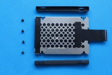 New Lenovo ThinkPad X220 X230 X220T X230T T420S T430S Hard Drive Disk HDD Caddy Cover + Rubber Rails + Screws 7MM 04W1716