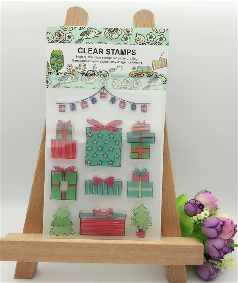 christmas gift for you design for wedding gift DIY scrapbook paper card rubber transparent clear stamp CL-284<br><br>Aliexpress