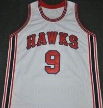 ST LOUIS HAWKS #9 BOB PETTIT Mens Basketball Jersey Embroidery Stitched Customize any number and name Jerseys
