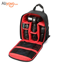 Buy Video Photo Digital Camera Shoulders Padded Backpack Bag Case Waterproof Shockproof Small Bags Canon Nikon DSLR for $32.15 in AliExpress store