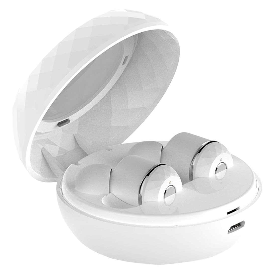 Wireless Earbuds, True Wireless Stereo Bluetooth V4.1 Headphones with Portable Charging Case &amp; Noise Reduction Earphones Long Ba<br>