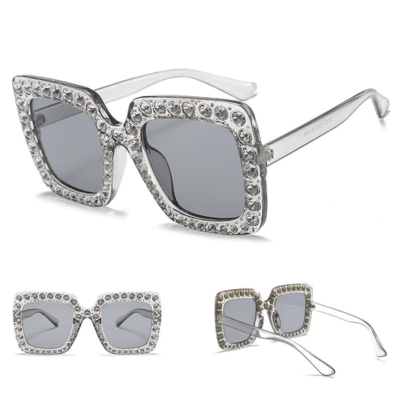 rhinestone sun glasses for women luxury brand 7080 details (4)