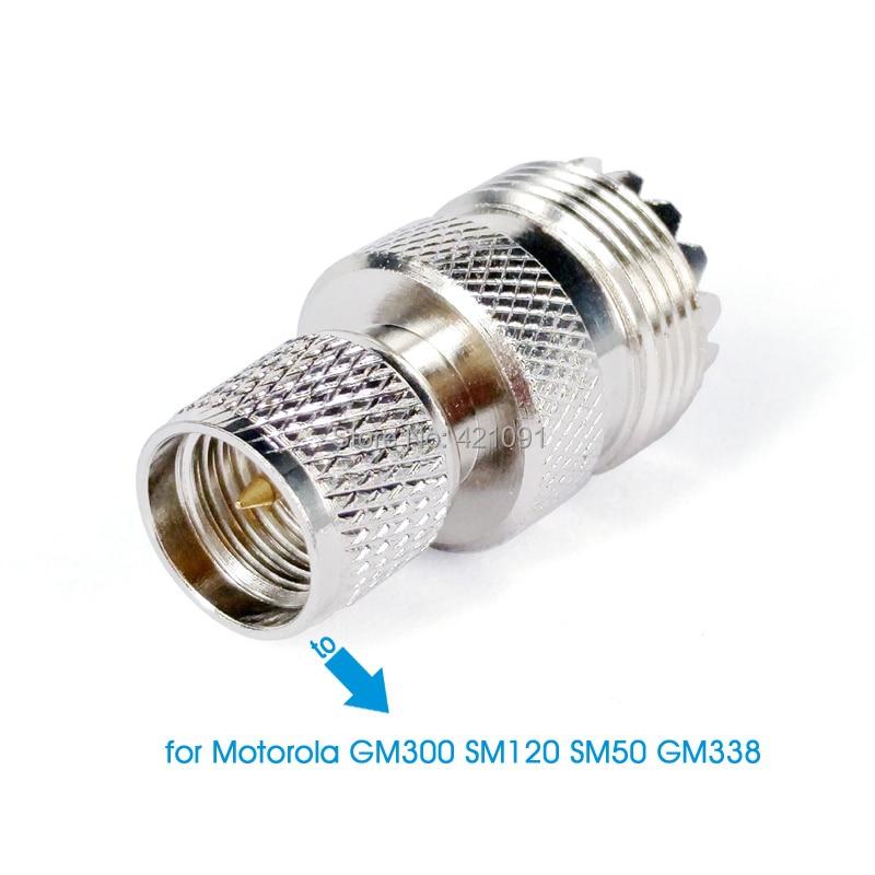 Car Radio Antenna Connector Adapter for Motorola GM300 3