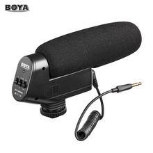 Buy BOYA BY-VM600 Cardioid Directional Condenser Microphone Mic Canon Sony Nikon Pentax DLSR Camera for $49.95 in AliExpress store