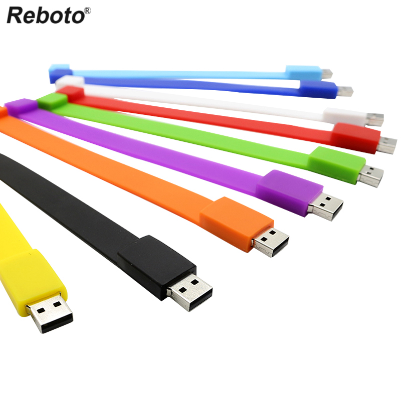 Real capacity Silicone Bracelet Wrist Band USB Flash Drive 16GB 32GB 4GB Pen Drive Stick U Disk Pendrive 64GB for gift(China (Mainland))