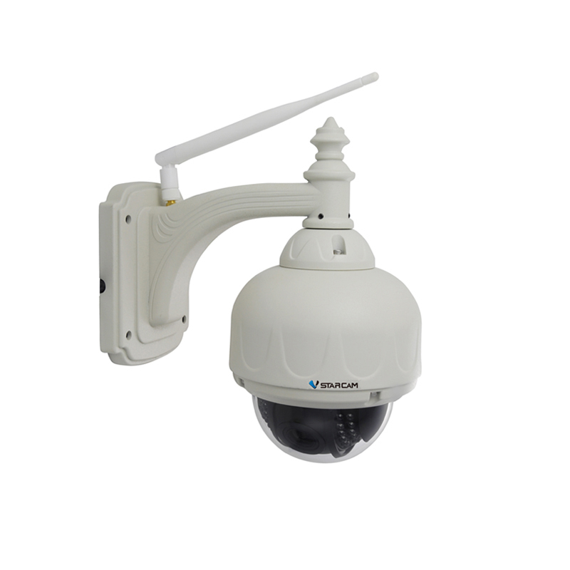 VStarcam C7833WIP Wireless WiFi Outdoor HD IP Security Camera 720P Wifi Wireless Dome Pan Tilt RSTP Onvif Stream Support 128G