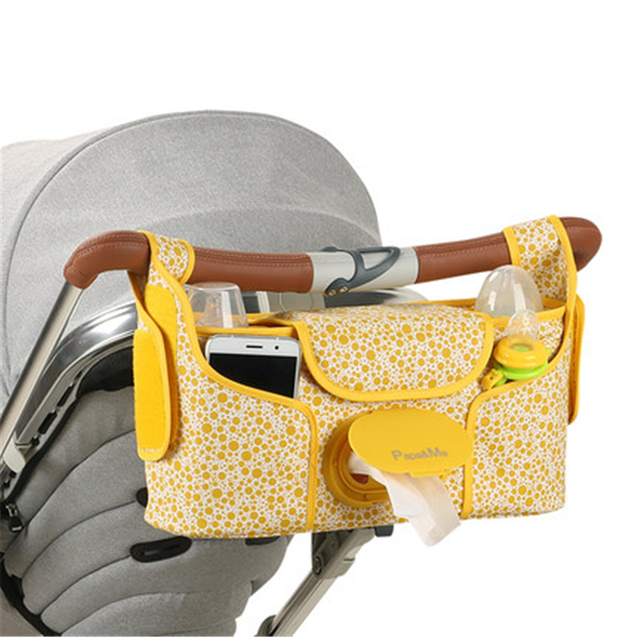 Multifunctional Baby Stroller Organizer Baby Pram Accessories Storage Cup Bag Baby Stroller Organizer Baby Carriage Pram 70Z241<br>