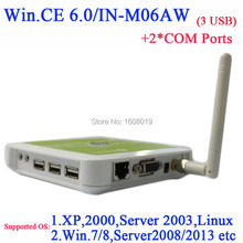 N380W thin client with USB RDP customize 2 COM embeded WIN.CE 6.0 white ARM11 800MHZ turn one server into 100 or more users(China)