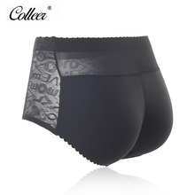 Buy COLLEER Brand High Waist Lady Butt Lift Fake Ass Hip Padded Lingerie Butt Enhancer Shaper Panties Push Seamless Underwear
