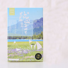 30pcs/lot Passing your world scenery luminous postcard meaning of travel greeting card christmas&birthday message card gift card(China)