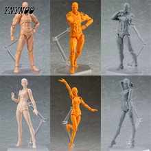 YNYNOO Brinquedos Tamashii Nations PVC Body Action & Toys Figure Collectible Models Doll Figma Female Male Body Chanen Figures