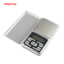 500g 0.01g Libra High Accuracy Electronic Jewelry Scale Digital Pocket Scales Weighing Balance with Stainless Steel Tray(China)