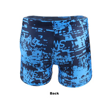Plus Size Swimwear Men Swimming Trunks Big and Tall Men Swim Wear Surf Board Swimsuit Boxer Shorts(China)