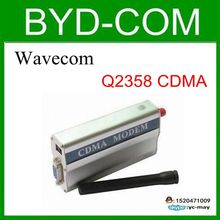 wavecom Q2358 CDMA modem wholesale factory SMS voice internet online(China)