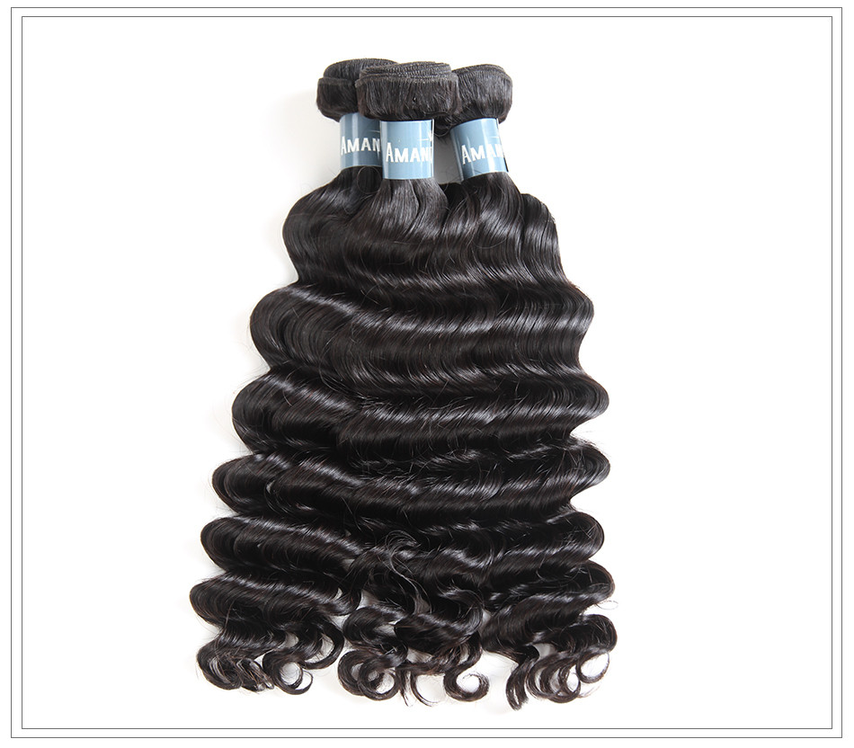 Amanda virgin hair weave loose deep12