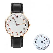 Arabic Numbers Watches New Design Montre Genuine Leather Straps. Quartz Movement