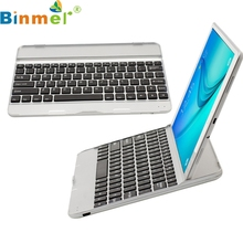 Binmer Mecall Tech Wireless Bluetooth keyboard Case Touchpad for Samsung Galaxy Tab A T550/T551(China)