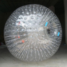 100% TPU Zorb ball 2.6 M diameter human hamster ball 0.8 mm PVC material outdoor game with Free shipping(China)
