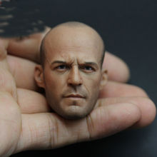 "1/6 Jason Statham Head Sculpt Fast and Furious 8 Death Squads Head Carving for 12"" Figure Doll Action Figure Accessory(China)"