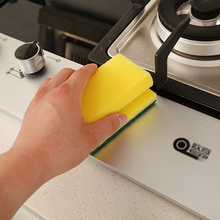 2pcs/lot Creative Fruit Thick Cleaning Sponge Cloth Dish Sponge Kitchen Scouring Pads House Hold Dish Pad Cleaning Cloths(China)