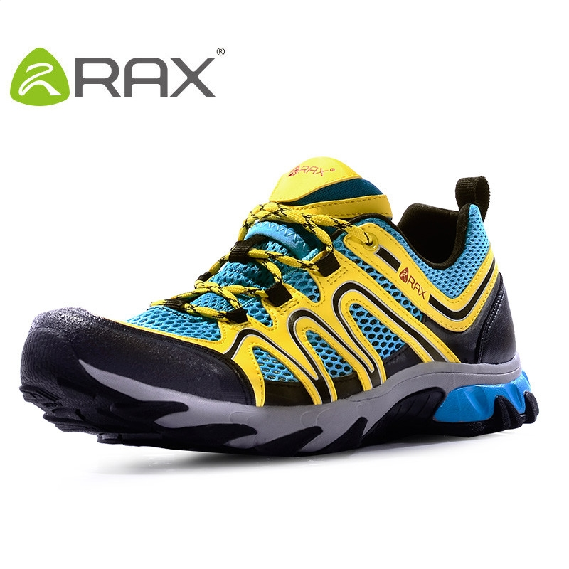 Rax Men Outdoor Hiking Shoes Men Travel Shoes Breathable Leather Mesh Outdoor Sports Shoes For Summer #B2265<br><br>Aliexpress