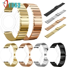 2017 OTOKY Milanese+Stainless Steel Bracelet Smart Watch Band Strap For Samsung Gear S3 Sporting Goods accessories Dec21(China)