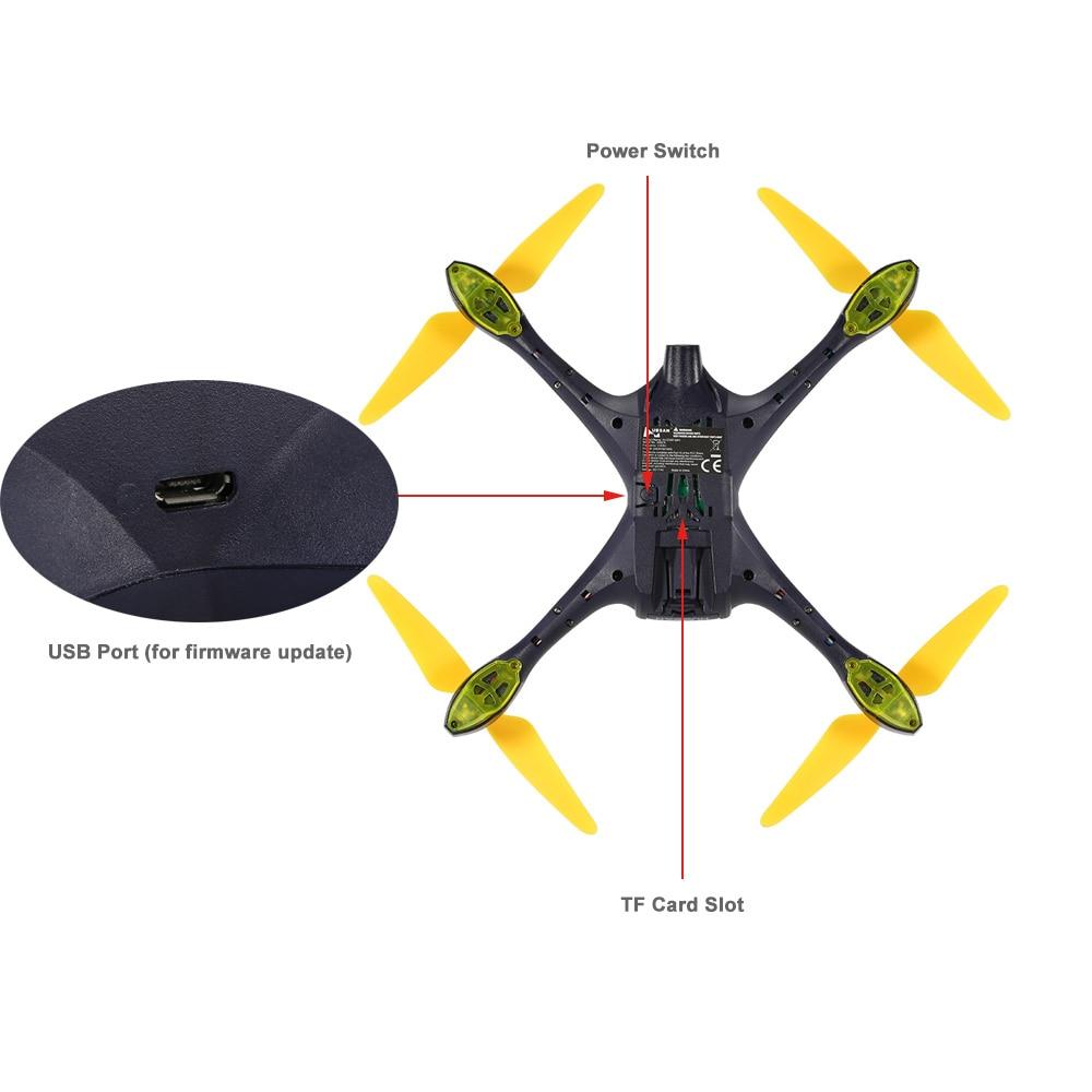 Hubsan X4 H507A Star Pro 720P Camera Drone Wifi FPV RC Quadcopter Follow Me Mode Way Point GPS One-Key Return RC Selfie Drone (13)