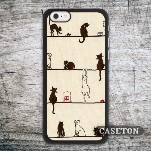 Many Naughty Cats font b Case b font For iPod 5 and For font b iPhone