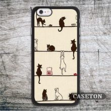 Many Naughty Cats Case For iPod 5 and For iPhone 7 6 6s Plus 5 5s SE 5c 4 4s Lovely Cat Phone Cover Drop Shipping