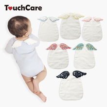 Clearance Touchcare Baby Back Carpet Angel Wings Baby Mat Towel Four Layers Cotton Gauze Back Sweat Absorption Baby Accessories