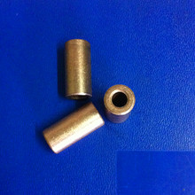5*10*21mm Copper base powder metallurgical parts Powder Metallurgy oil bushing  porous bearing  Sintered copper sleeve