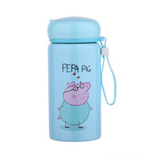New Cartoon Pig Thermo Mug Vacuum Flask Cup Stainless Steel Thermos Water Bottle Thermal Tumbler Travel Car Kettle Coffee Mugs(China)