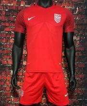 gtt Custom name number USA Red Soccer Jerseys sets Camisetas de Futbol 2017 2018 soccer football jersey football shirts vdw
