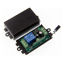 DC 9V 12V 24V 1 CH 1CH RF Wireless Remote Control Switch System Receiver,315/433.92 MHZ(China)