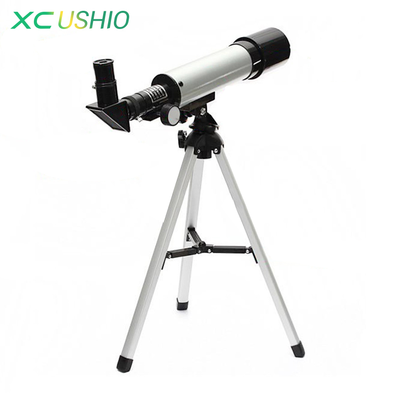 High Quality Monocular Astronomical Telescope Outdoor Spotting Telescopio with Tripod Best Christmas Gift for Children F36050<br><br>Aliexpress