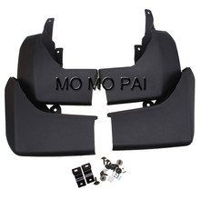 Car-styling mud flap guardia fit para land rover discovery 4 diesel 2009-2015 guardabarros 4 unids mo mo pai