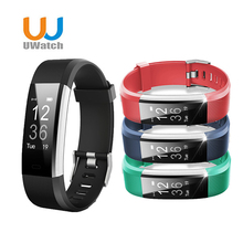 Uwatch Smartband Fitness APP GPS Activity Tracker Smart Bracelet HR Sleep Monitor Smart Band BT Camera and Music Remote Control
