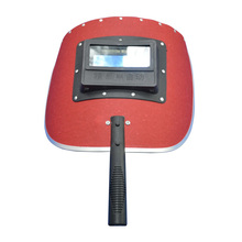 Cheap New Model Red Waterproof Hand-Holding High Quality Welder Equipment Auto Darkening Welding Mask TRQ-SA03(China)
