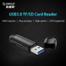 ORICO High Quality USB 3.0 All in 1 Multi Memory Card Reader for T-Flash MMC TF M2 Memory Stick-Black(China)