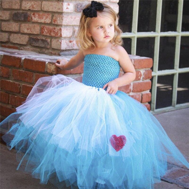 Newborn - Size 12 Alice In Wonderland Inspired Tutu Dress_1