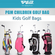 brand PGM. Kids children junior golf bags boys girls cute golf bags.the price just for the bag, no clubs in the bag(China)