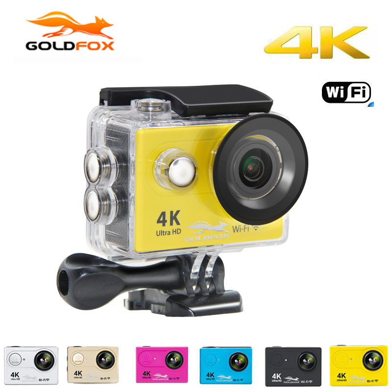 GOLDFOX H9 WiFi 1080P Action camera HD 4K 60fps Sports Camera 2.0 LCD 170D 12MP sport DV 30m go waterproof pro Video camera