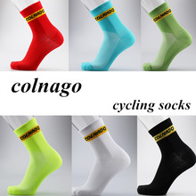 new Professional brand Cycling sport socks Protect feet breathable wicking socks cycling socks Bicycles Socks(China)